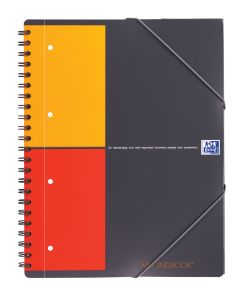 Cahier Oxford Meetingbook - A4 - 160 pages - petits carreaux