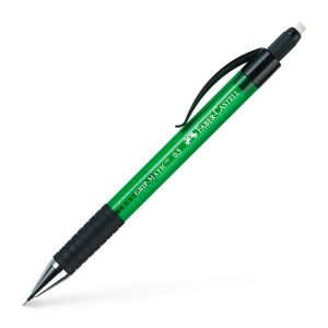 Porte-mine Faber-Castell grip matic - 0,5mm - HB - vert