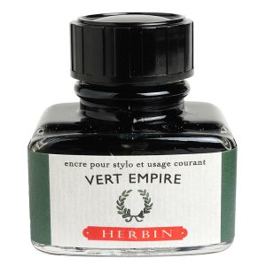 "Encre Herbin en flacon ""D"" - 30 ml - vert empire"