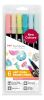 Feutres Tombow ABT double pointe - Couleurs Candy - Étui de 6