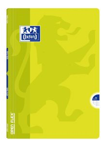 Cahier Oxford open flex - 24x32 cm  - 96 pages - Séyès – vert lime