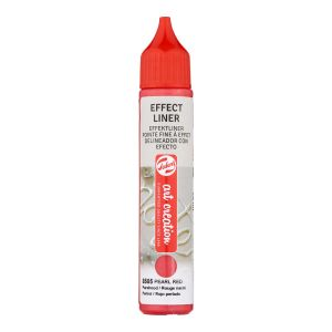 Effect Liner Royal Talens - 28 ml - rouge nacré
