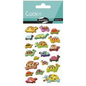 Stickers Cooky Maildor - tortues