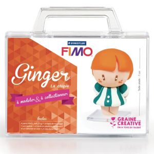 Kit Pâte Fimo - Ginger la chipie