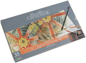 Coffret Dessin Cretacolor Ultimo Drawing Set - 35 pièces