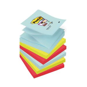 6 Blocs Post-It Z Notes - 7,6x7,6 cm