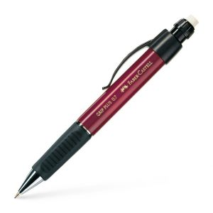Porte-mines Faber-Castell grip plus - 0,7 mm - B - rouge