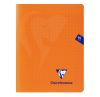 Cahier Clairefontaine Mimesys - 17x22 cm - 96 pages - Séyès - orange