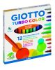 12 FEUTRES GIOTTO TURBO COLOR