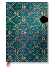 Carnet Paperblanks Bleu - 21X30cm - 128p - Pages blanches
