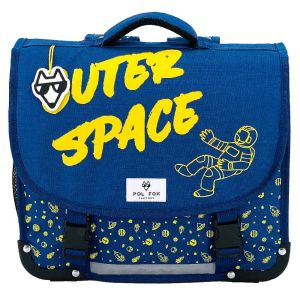 Cartable Scolaire Pol Fox Outer Space - 38 cm