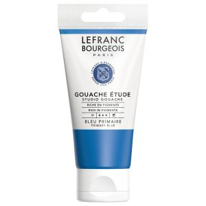 Gouache Colour Lefranc-Bourgeois - 80ml - bleu