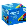 BOITE 100 CRAIES COULEURS ASSORTIES GIOTTO