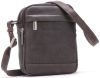 Sac travers Arthur & Aston - cuir vachette destroy - Marron