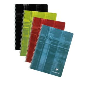 CAHIER CLAIREFONTAINE SPIRALÉ 24 X 32 180 PAGES SEYES