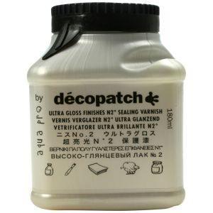 Vernis Vitrificateur Décopatch - 180 ml - Ultra brillant