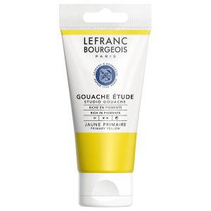 Gouache Colour Lefranc-Bourgeois - 80ml - jaune