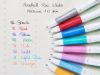 Stylo-Bille Pilot acroball pure white - 1mm - violet