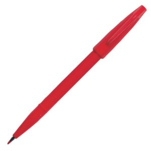 Stylo-Feutre Pentel sign pen - rouge