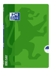 Cahier Oxford open flex - A4 - 96 pages - Séyès - vert