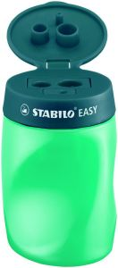Taille-crayon Stabilo easy - droitier - turquoise