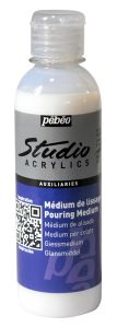 Médium de Lissage Pouring Medium Pébéo Studio Acrylics - 250 ml