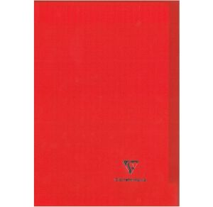 Cahier Clairefontaine Koverbook - 24x32 cm - 96 pages - Séyès - rouge