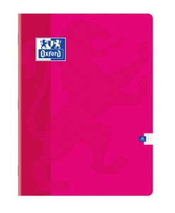 Cahier Oxford - 24x32 cm - 48 pages – Séyès - fuschia