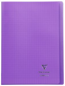 Cahier Clairefontaine Koverbook - A4 - 96 pages - Séyès – violet