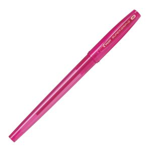 Stylo Pilot Super Grip Rose - pointe moyenne