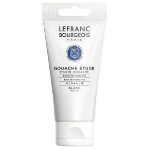 Gouache Colour Lefranc-Bourgeois - 80ml - blanc