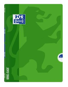 Cahier Oxford open flex - 24x32 cm  - 96 pages - Séyès – vert
