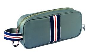 Trousse Scolaire frenchy - gris