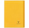 Cahier Clairefontaine Koverbook - 24x32 cm - 96 pages - Séyès - jaune