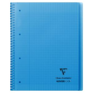 Cahier Clairefontaine Koverbook - A4+ - 160 pages - Séyès