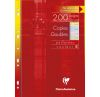 Copies Doubles Clairefontaine - A4 - 200 pages - Séyès - 4 couleurs