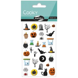 Stickers Cooky Maildor - Halloween