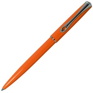 Stylo-bille Diplomat Traveller - lumi orange - pointe moyenne