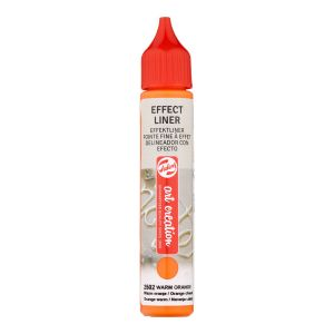 Effect Liner Royal Talens - 28 ml - orange chaud
