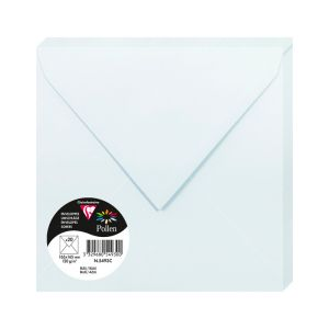 20 Enveloppes Pollen Clairefontaine - 165x165 mm - bleu
