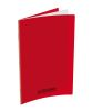 CAHIER CONQUÉRANT 24 X 32 96 P POLYPRO SEYES ROUGE