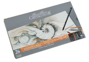 Set Dessin Teacher's Choice Cretacolor - 26 pièces