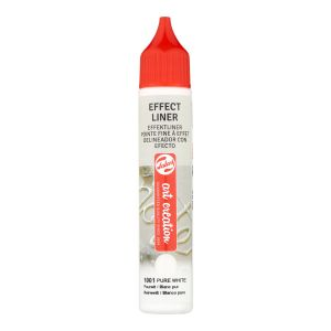Effect Liner Royal Talens - 28 ml - blanc pur
