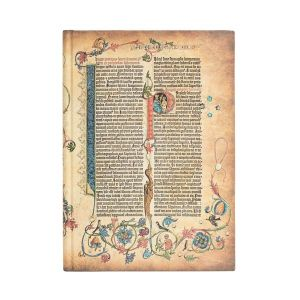 Carnet PaperBlanks Bible Gutenberg - 21x30cm - Pages blanches