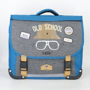 Cartable Pol Fox Old School Reversible - 38 cm