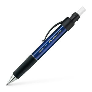 Porte-mine Faber-Castell grip plus - 1,4 mm - B -  bleu