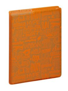 Agenda Scolaire Exacompta forum fluo design - orange