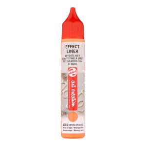 Effect Liner Royal Talens - 28 ml - orange néon