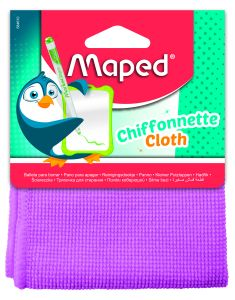 Chiffonnette microfibre Maped (rose ou turquoise)