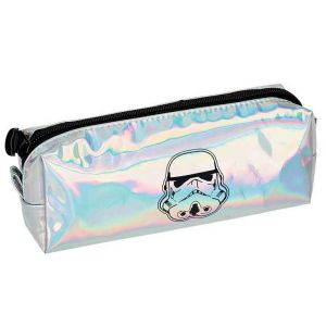 Trousse Scolaire ronde Stormtroopers - blanc
